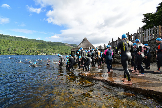 The Loch Tay Sprint Triathlon , Powered by Lomo